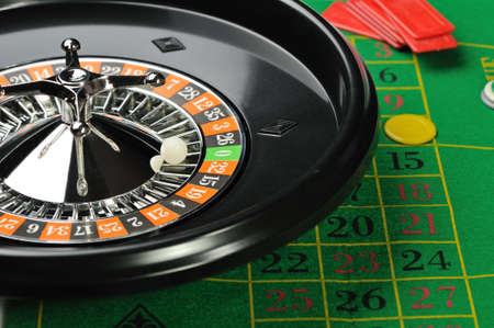 establishments: Roulette. Gambling in game establishments of a casino