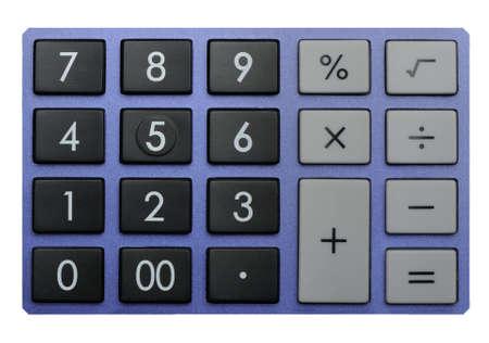 numerator: The digital keyboard. A photo close up