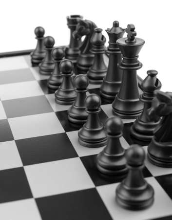 Chess. Desktop logic game Stock Photo - 6826613