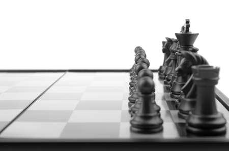 Chess. Desktop logic game Stock Photo - 6849029