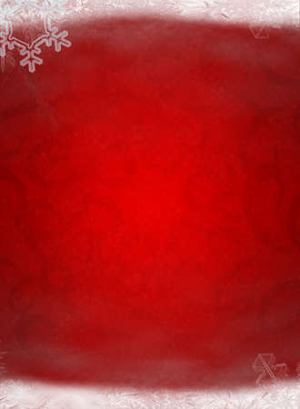 red christmas backgrounds: Christmas background. Elements of a snow, snowflakes, an ice
