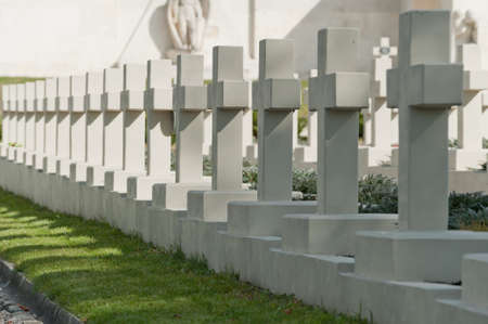 Military cemetery. Since its creation in 1787 Lychakiv Cemetery Lvov, Ukraine photo