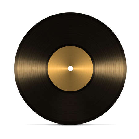 rpm: vinyl record. isolated on white background