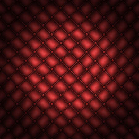 red leather texture: Texture leather quilted a sofa. Rd color.Highly detailed surface of a leather sofa.