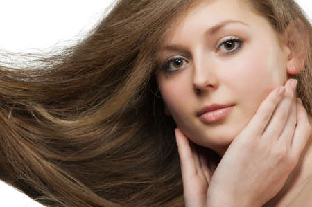 women with long hair Stock Photo - 9248489