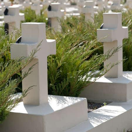 memorial cross: Cementerio militar. Desde su creación en 1787 Lvov Lychakiv cementerio, Ucrania