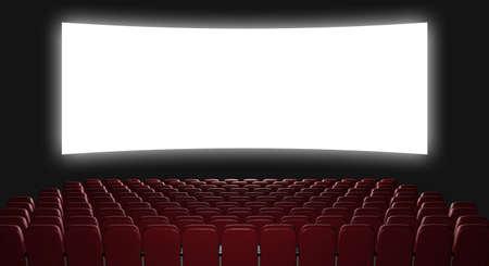 asiento: Cine auditorio. Representaci�n 3D. Ver en la pantalla