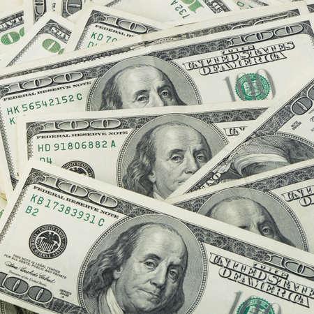 달러: 미국 돈의 dollars.Highly 상세한 그림의 많은