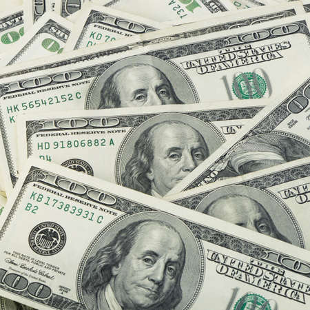 dollar bills: Un sacco di foto dollars.Highly dettagliata di denaro americano