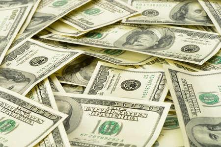 mucho dinero: Una gran cantidad de imagen dollars.Highly detallada de dinero estadounidense Foto de archivo