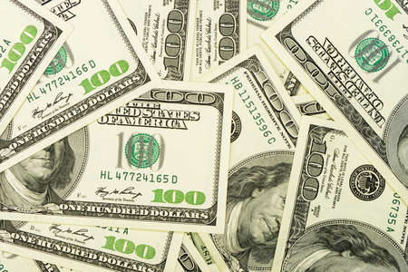 dollar bills: A lot of dollars.Highly detailed picture of American money