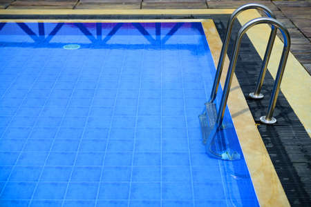The details of the swimming pool in the open air Stock Photo - 17230812