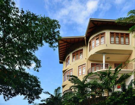 Hotel in the tropics . Country Of Sri Lanka