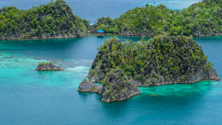 Painemo Island, Blue Lagoon, Raja Ampat, West Papua Indonesia