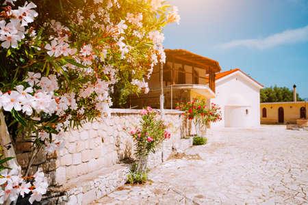 Monastery of Kipoureon on Kefalonia island, Greece