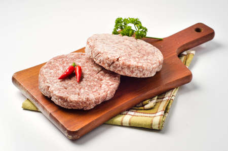 crinkly: Frozen Hamburger, pepper and parsley crinkly