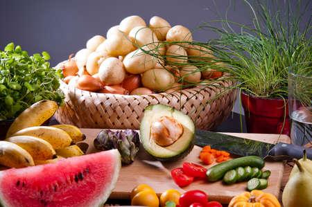 frutas y hortalizas Foto de archivo