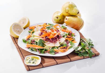 pears salad Foto de archivo