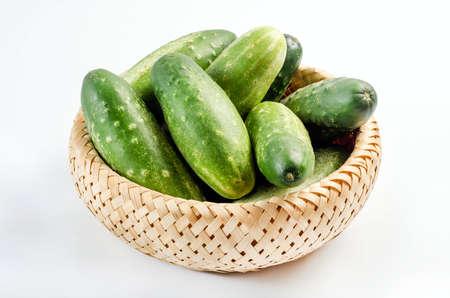 countrified: cucumber Stock Photo