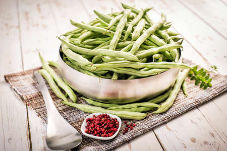 haricot: Haricot vert, string beans, french beans