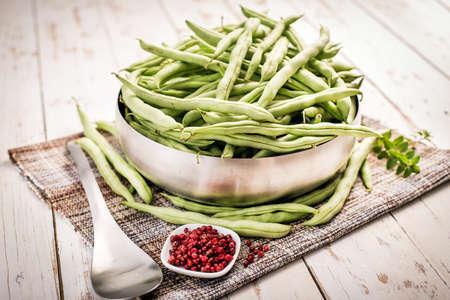 greenbeans: Haricot vert, string beans, french beans