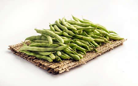 greenbeans: Haricot vert Stock Photo