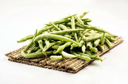 haricot vert: Haricot vert Stock Photo