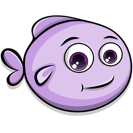 cute: Cute fish Illustration