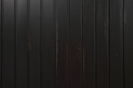 black wood background with vertical straight lines Stock Photo