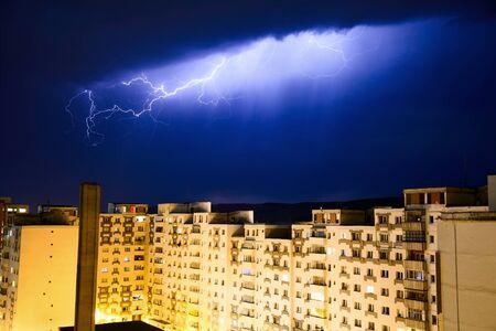 Urban lightning Stock Photo - 13564724