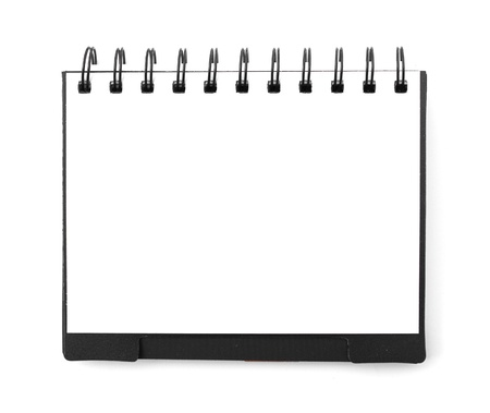 White blank note book Stock Photo - 19097526