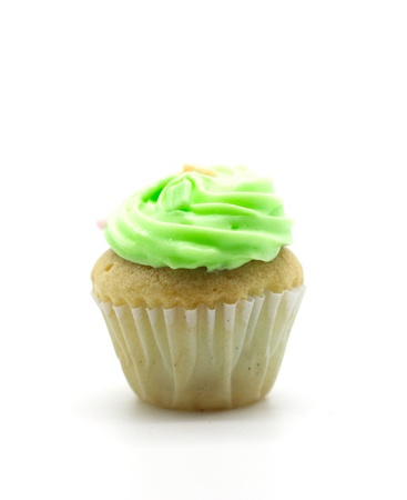 colorful cup cake,cream muffin Stock Photo