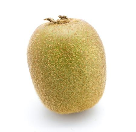 Fresh kiwifruit isolated on white