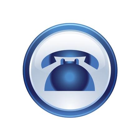 pushbutton: icon web set for use Illustration