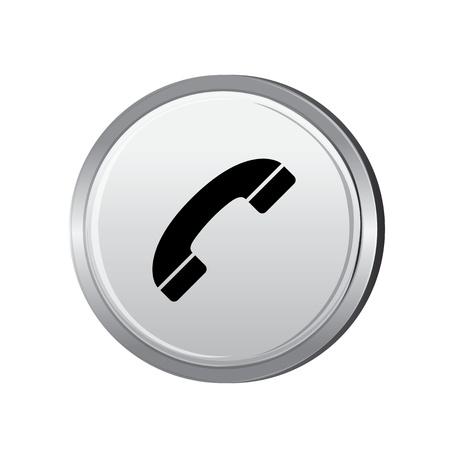 call us: icon web set for use Illustration