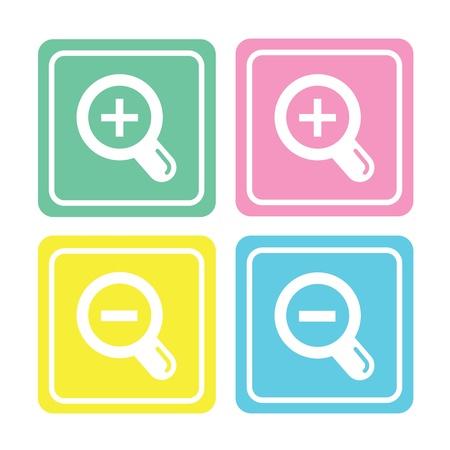 ico: icon web set for use Illustration