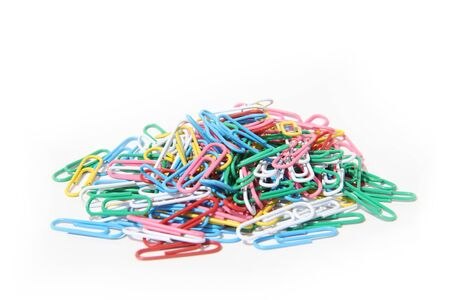paper clips set for use