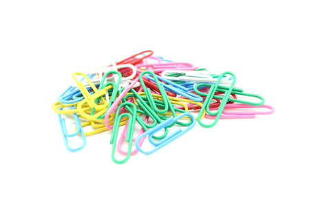paper clips set for use photo