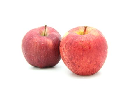 apples fruit isolated on white background photo