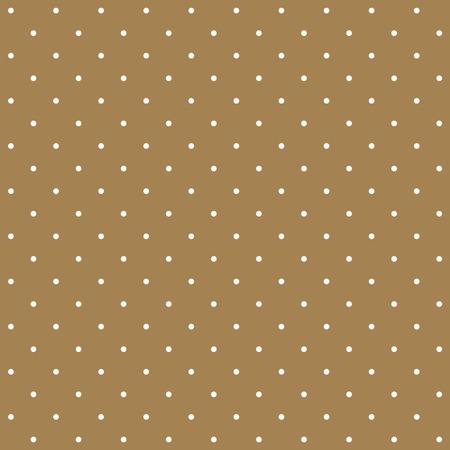 Seamless pattern of cute, polka dots patterns