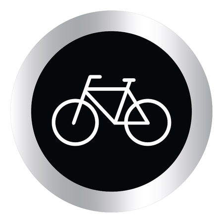 bicycling: Cycling design over white background, vector illustration