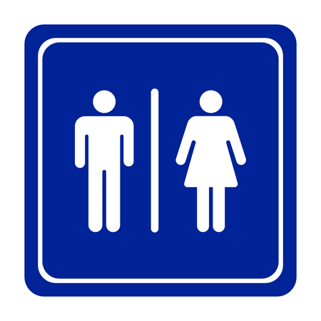 compliant: Restroom signs for men and women,vector eps10.
