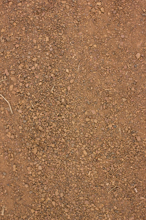 red soil: Red soil texture background, dried clay surface