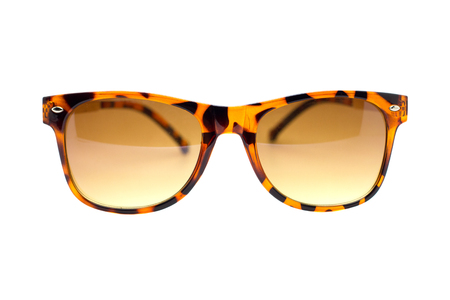 Isolated Sun glasses on a white background. photo