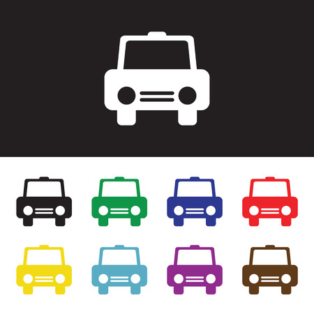 cabrio: Car icon. Modern icons for mobile or web interface. Vector illustration.