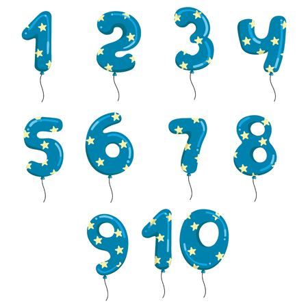 Balloons number