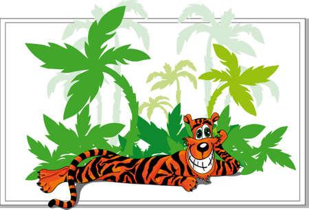 tiger Stock Vector - 5959180