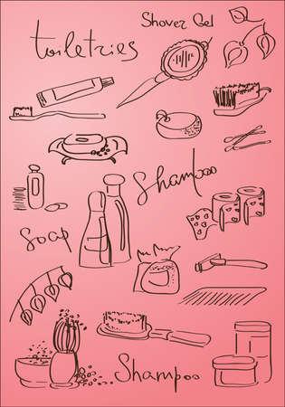 procedure: cosmetiche procedure  Vettoriali