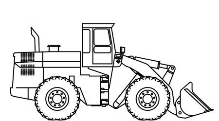 road grader: bulldozer