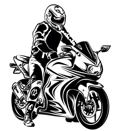bikers: motorcycle